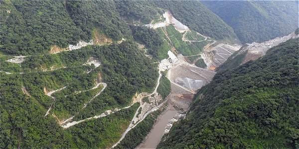Monitoreo de calidad ambiental del proyecto HIDROELÉCTRICO ITUANGO